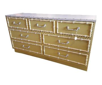 Broyhill Faux Bamboo Dresser