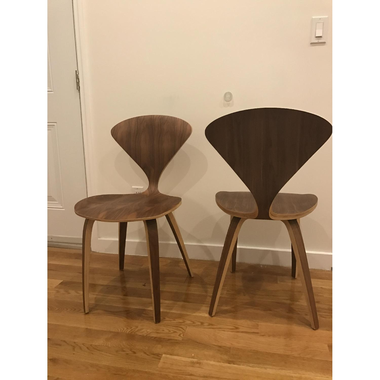 ... Mid Century Modern Wood Dining Chair 0 ...