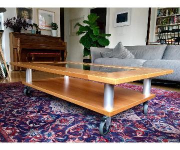 Gangso Mid-Century Modern Danish Wood Coffee Table