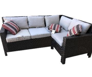 West Elm Outdoor Sectional Sofa