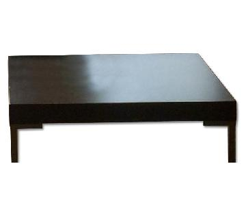 SoHo-Style Low Square Coffee Table