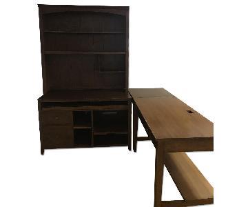 Ethan Allen 4 Piece Desk