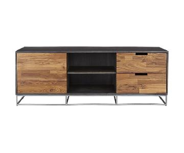 CB2 Congo Media Credenza in Mango Wood