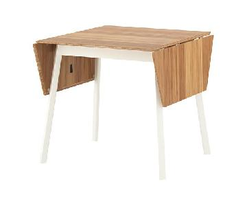 Ikea PS 2012 Bamboo Drop-Leaf Kitchen Table