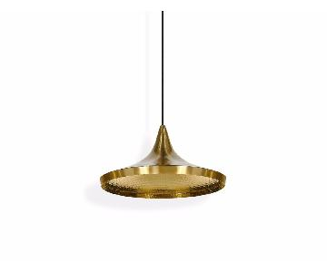 Tom Dixon Beat Wide Pendant in Brass