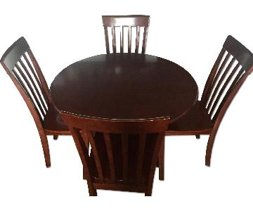 Bob's Drop Leaf 5 Piece Dining Set
