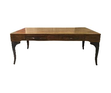 Designe Gallerie Rectangular Accent Coffee Table w/ Drawers