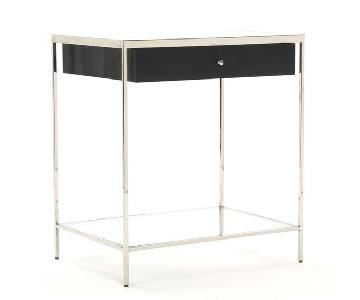 Mitchell Gold + Bob William Manning Caviar Black Side Table