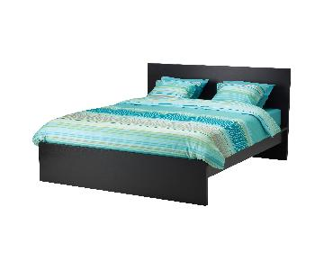 Ikea Malm Full Size Bed Frame in Espresso