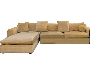 Klaussner Furniture 2 Piece Sectional Sofa