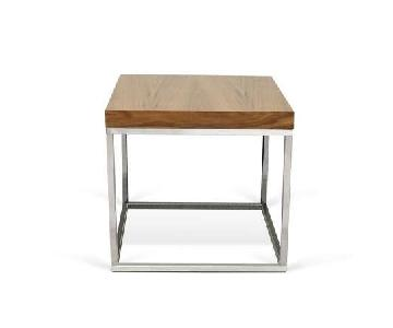 YLiving Prairie End Table