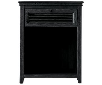 Restoration Hardware Shutter Open Nightstand