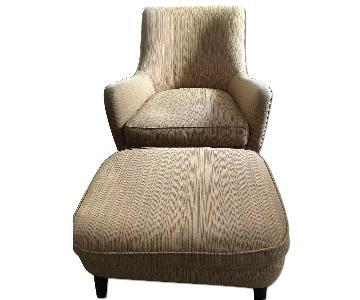 Room & Board Quinn Chair & Ottoman