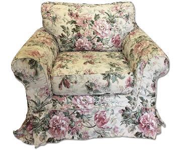 Z Gallerie Overstuffed Accent Chair