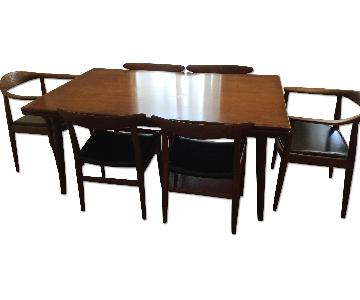 Hans Wegner 7-Piece Dining Set