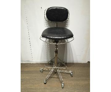Restoration Hardware Adjustable Height Office Chair