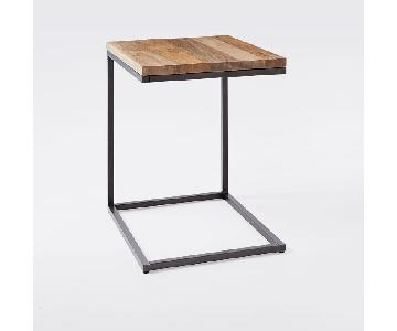 West Elm Modern C-Base Side Table
