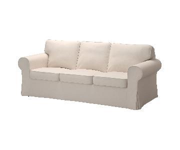 Ikea Ektorp 3 Seater Sofa in Lofallet Beige