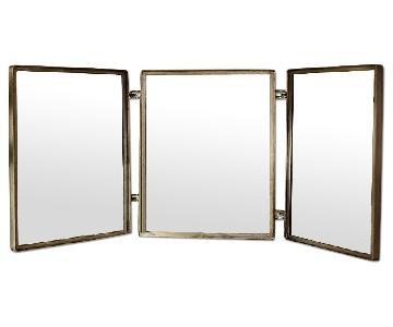 Pottery Barn Trinity Triptych Mirror