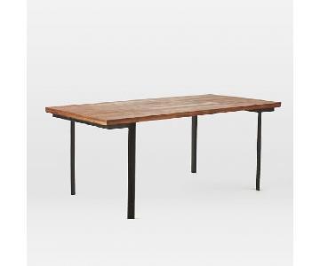 West Elm Industrial Vintage Dining Table