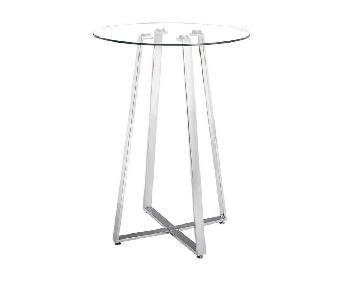 Wildon Home Glass Top High Bar Table