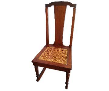 John D. Raab Chair Co. Colonial Revival Rocker Chair