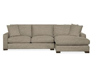 Room & Board Metro 2-Piece Sectional Sofa
