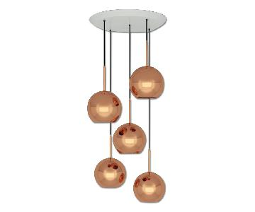 Tom Dixon Copper Round Pendant System
