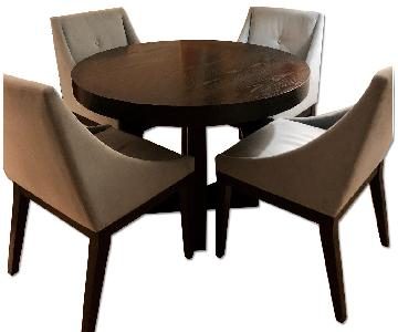 West Elm Modern Dining Table w/ 4 Chairs