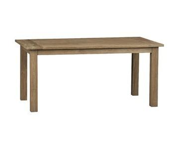 Crate & Barrel Rustic Dining Table