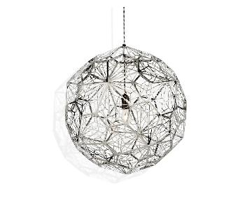 Tom Dixon Etch Web Pendant in Steel