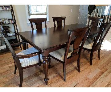 7-Piece Wood Expandable Dining Set