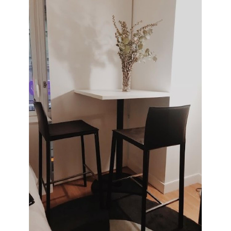 boconcept bonn bar table w 2 zarra stools aptdeco