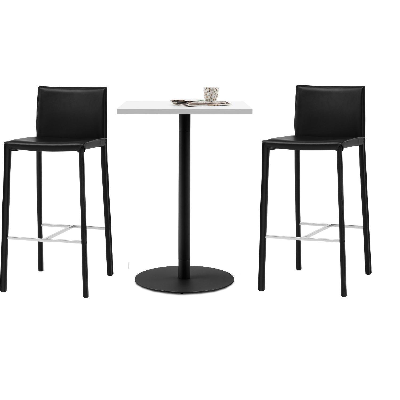 Boconcept Bonn boconcept bonn bar table w 2 zarra stools aptdeco