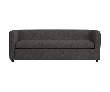 CB2 Movie Salt & Pepper Queen Sleeper Sofa