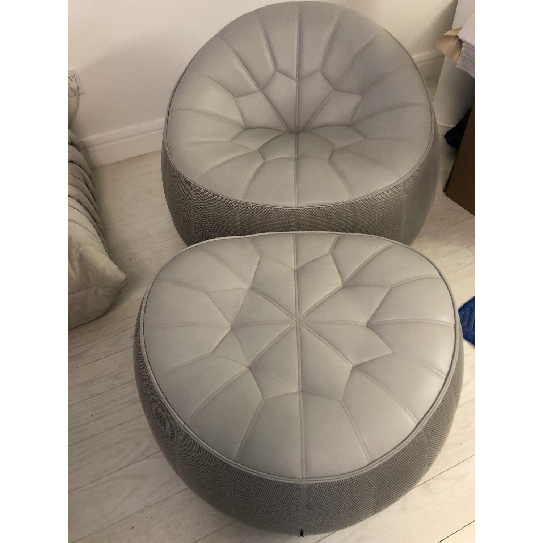 ... Ligne Roset Pumpkin Chair U0026 Ottoman 0 ...