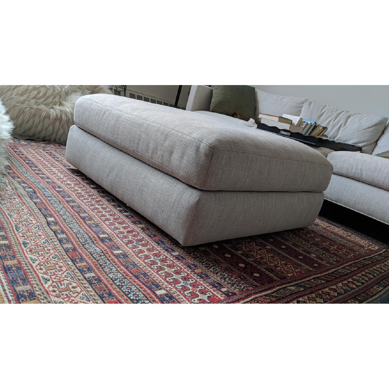 Design Within Reach Down Cushion Ottoman - image-2