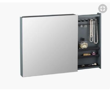 CB2 Valet Jewelry Cabinet Mirror