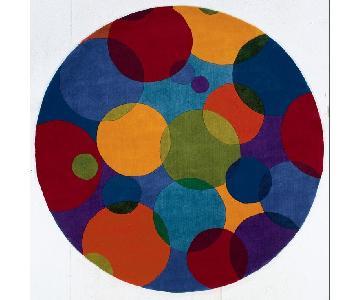 """Momeni New Wave 68"""" Round Area Rug"""