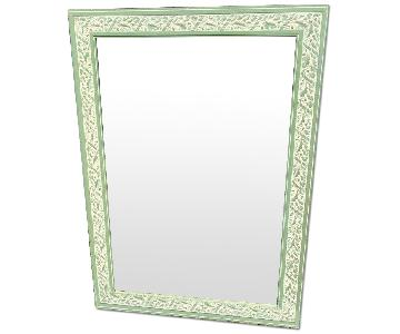 Nature-Themed Green Mirror
