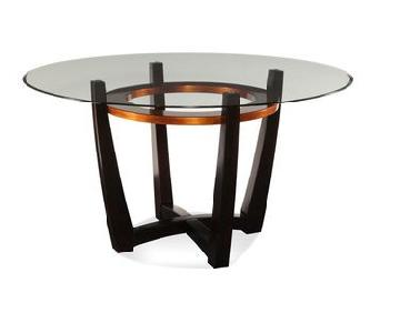 Macy's Elation Round Dining Table
