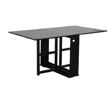 Crate & Barrel Span Drop-Leaf Dining Table
