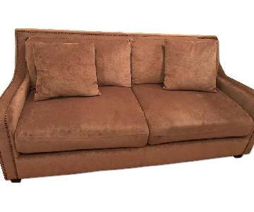 Coaster Fine Furniture Chenille Two-Seater Sofa