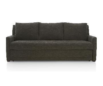 Crate & Barrel Reston Queen Sleeper Sofa
