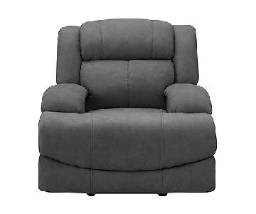 Raymour & Flanigan Power Glider Recliner w/ Power Headrest