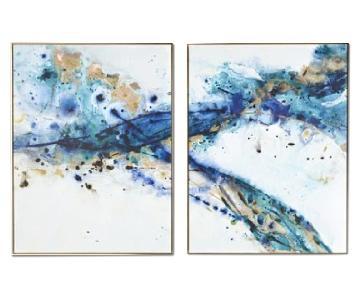 Kari Taylor 2-Piece Giclee - Azure Canyon