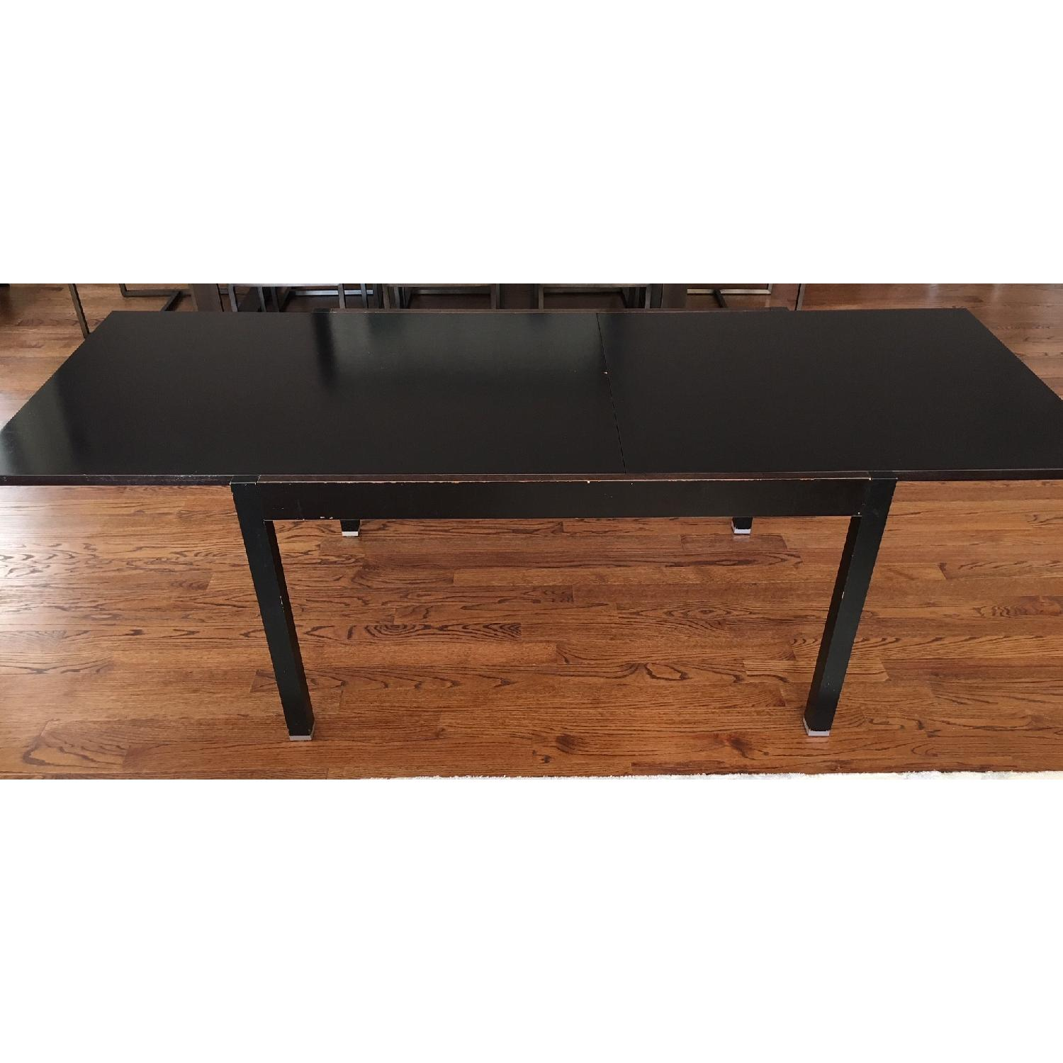 BoConcept Black Wood Extension Dining Table-1