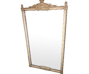 Antique Beige Frame Mirror