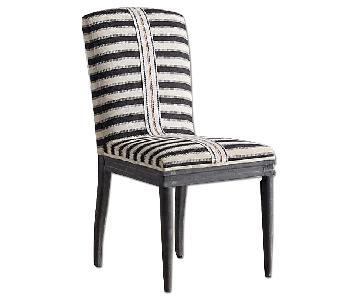 Anthropologie Grassland Stripe Dining Chair