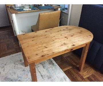 Antique Handcrafted Dining Table/Writing Table